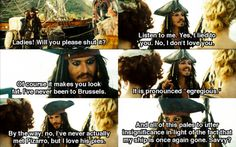 And all of this pales to utter insignificance in light of the fact that my ship is once again gone. Savvy?
