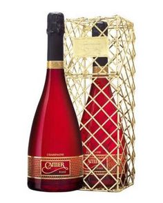 Champagne Cattier Brut Rose Red Kiss