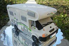 Gateau Camping-car ; motorhome cake