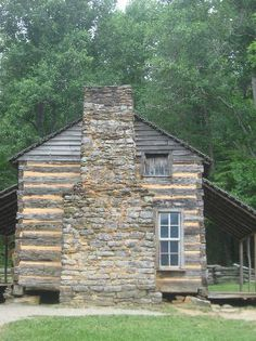 Log Cabin at Cades Cove   Trip To Pigeon Forge Tennesee -  Love Cades Cove    -   Mebs