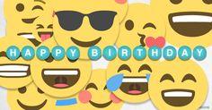 Free Happy Birthday gifs, fancy and funny animated Birthday gif wishes to send. Happy Birthday Smiley, Happy Birthday Gif Images, Birthday Wishes Funny, Birthday Greetings, Birthday Cards, Birthday Gifs, Cool Animated Gifs, Free Emoji, Kiss Emoji