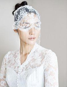 wedding veils and headpieces | Vintage veil | Bridal Veils & Headpieces Inspiration