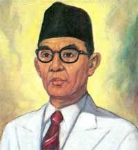 Ki Hajar Dewantara, he is the father of education in Indonesia.