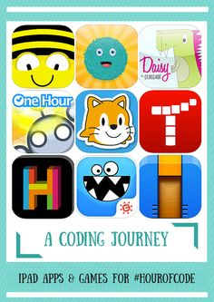 Get ideas for the Hour of Code and beyond. Start with some unplugged activities, then check out apps and sites to move on to more complex coding. Computer Coding For Kids, Computer Lab, Coding Apps For Kids, Computer Lessons, Technology Lessons, Computer Science, Computational Thinking, Library Activities, Instructional Technology