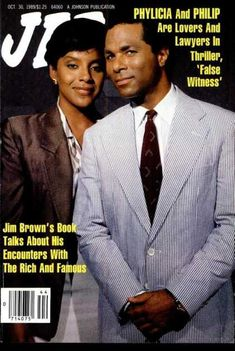 The weekly source of African American political and entertainment news. Jet Magazine, Black Magazine, Black Actresses, Black Actors, Ebony Magazine Cover, Magazine Covers, Phylicia Rashad, The Cosby Show, African American Culture