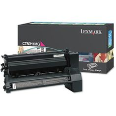 Lexmark C780H1MG Magenta Toner Cartridge #C780H1MG #Lexmark #TonerCartridges  https://www.officecrave.com/lexmark-c780h1mg-magenta-toner-cartridge.html