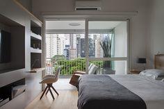 Casa de Valentia; decoração; projeto; apartamento; carioca; quarto de casal