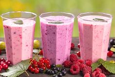 Smoothie Recipes For Kids Berry Fruit Smoothie