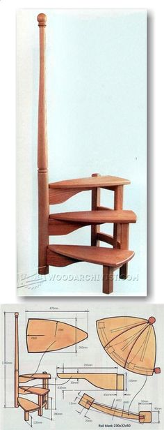 Library Steps Plans - Furniture Plans and Projects | WoodArchivist.com #WoodWorkingPlansFurniture