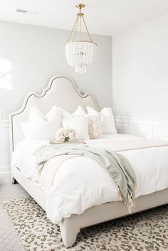 Here's Why Allswell's New Luxe Debut Bedroom Line Will Make You Feel Like An. Here's Why Allswell's New Luxe Debut Bedroom Line Will Make You Feel Like An Actual Queen Stylish Bedroom, Cozy Bedroom, Bedroom Decor, Bedroom Ideas, Queen Bedroom, Master Bedroom, All White Bedroom, White Bedrooms, Bedroom Rustic