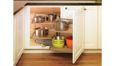 Blind Base Storage Door Attached | Crystal Cabinets