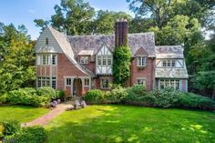 Here is a great house for sale in 90 PROSPECT HILL AVE Summit, NJ Let us help you find your next home in Summit, or help you sell yours. Tudor House Exterior, House Exteriors, Casa Estilo Tudor, Prospect Hill, Summit Homes, Sims, Tudor Style Homes, Wide Plank Flooring, Mansions For Sale