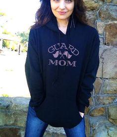 Color Winter Guard  MoM Hoodie Sweatshirt S M L by mystoryshirts