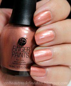Finger Paint Swatches - Primitively Posh