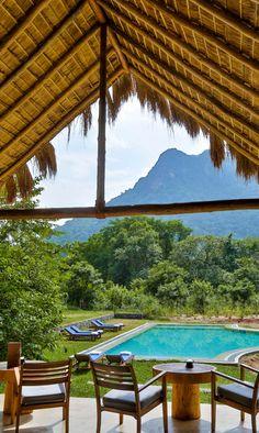 Een echte honeymoon hideaway in het nog onbekende Gal Oya National Park. Het enige park in Sri Lanka waar je olifanten kunt zien zwemmen!