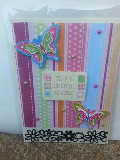 Handmade card £1
