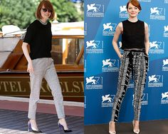 How to Style Fall's Coolest Trousers—Courtesy of Emma Stone