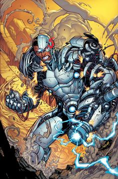 Cyborg - I don't really like the character but love the art