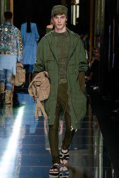 Balmain Spring/Summer 2017 Menswear Collection | British Vogue