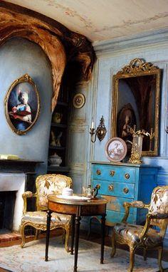 Amazing dollhouse room