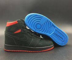 9a7a43d879 Air Jordan 1 Retro High OG Quai 54 For Sale, This Air Jordan 1 for the Quai  54 tournament features a Black, Italy Blue and University Red color theme.