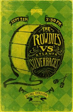 Tampa Bay Rowdies - Game Posters on Behance