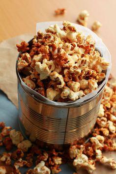 (via deligram.net) Freshly popped corn