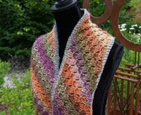 Corner To Corner Scarf By Michael Sellick - Free Crochet Pattern - (thecrochetcrowd)