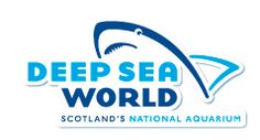 Deep Sea World, Edinburgh, Scotland. Crazy long underwater shark tunnel!