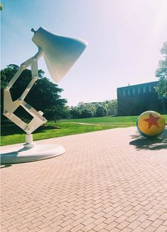Visiting Pixar Animation Studios is an incredible experience. You can feel the creativity not just in conversations with people who work there but in the place itself — nearly every detail inside and outside has a special meaning behind it. We were lucky to spend some time on the campus in Emeryville, CA, to learn about the new movie Inside Out, which comes out June 2015. Ahead, check out our favorite fun facts.