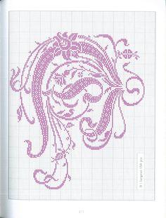 Gallery.ru / Photo # 139 - Belles lettres au point de croix - logopedd