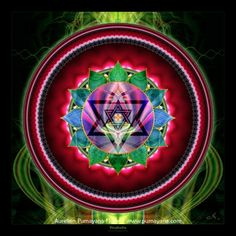 4th Chakra - Anahata - Heart Chakra limitless compassion- empathy-forgiveness- love and understanding