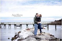 Our incredible engagement photos by Alisz Hatch Photography in Yorktown, VA. #engagementpictures #virginiabeach #hamptonroads