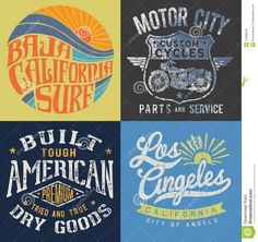 Vintage T-shirt Graphic Set 1 - Download From Over 37 Million High Quality Stock Photos, Images, Vectors. Sign up for FREE today. Image: 41398648