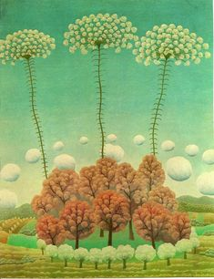 Ivan Rabuzin (1921 – 2008) was a Croatian naïve artist. Ivan worked as a carpenter for many years, and did not begin painting until 1956, when he was thirty-five years old. He had little formal training as an artist, but his first exhibition of paintings proved successful and he changed careers, becoming a professional painter in 1962. From 1993 to 1999 he was also a member of the Croatian Parliament.