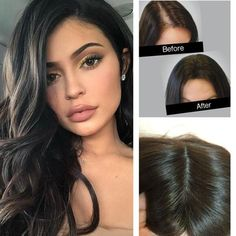 Soft Mono Topper Hair With Clip Color Off Black Hidden Crown Hair Piece Human Hair Clip Ins, Remy Human Hair, Extensions For Thin Hair, Clip In Hair Pieces, Hair Secrets, Hair Toppers, Crown Hairstyles, Celebrity Red Carpet, Light Hair