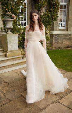 GALA by Galia Lahav Fall 2021 Collection. www.theweddingnotebook.com Tulle Wedding, Wedding Gowns, Chic Wedding, Wedding Bells, Garden Wedding, Elegant Wedding, Dream Wedding, Wedding Ideas, Bridal Collection