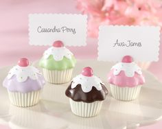 sweet cupcake place card holders for birthday parties or any other sweet occasion, as low as $5.94