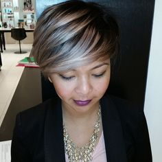 cool 20 Glamorous Ash Blonde and Silver Ombre Frisuren