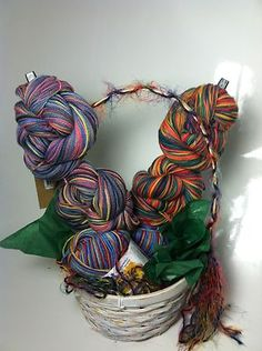 Destash your lonely yarns into usable gifts of art. Give to a special crafter, sell them at charity events, etc. Whatever you can dream up... I am sure you can create it. :)
