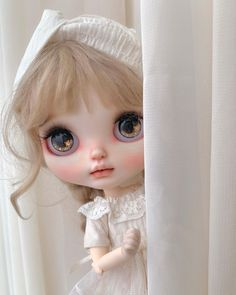 Blythe Dolls, Beautiful Dolls, Selfies, Elsa, Disney Characters, Fictional Characters, Disney Princess, Art, Baby Dolls