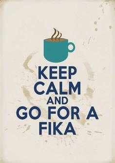 Fika with me? ;)