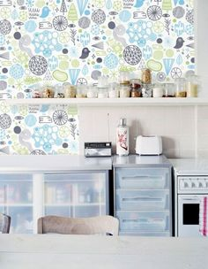 New Modern Wallpaper Designs from Studio Nommo