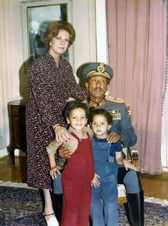 Alsadat and family, Egypt