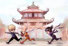 Saitama, Genos and Sonic | OPM in Tainan by Onosaka-Yuha on DeviantArt