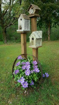 50 Stunning Spring Garden Ideas for Front Yard and Backyard Landscaping - Unser Garten unsere Oase! Garden Yard Ideas, Diy Garden, Spring Garden, Garden Art, Backyard Ideas, Garden Beds, Planter Garden, Patio Ideas, Balcony Garden
