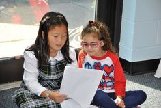 Buckley Country Day: Media - Lower School Buddy Reading October 2014