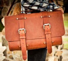 Colsen Keane leather satchel