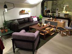 https://flic.kr/p/qfZMQx | Cosy sofa & Main square coffee table | Grünerløkka re-opening