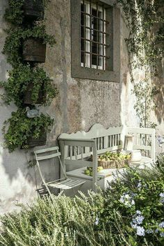 Are you looking garden shed plans? I have here few tips and suggestions on how to create the perfect garden shed plans for you. French Country Cottage, French Countryside, French Country Style, French Farmhouse, Country Living, Farmhouse Garden, Garden Cottage, Home And Garden, Outdoor Spaces